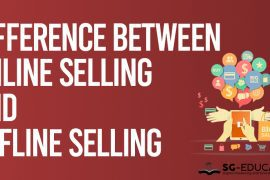 online selling and offline selling