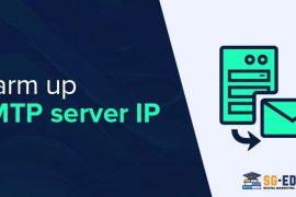 Warm up smtp server ip